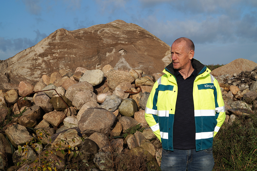 Gert Amdi Kjeldsen, Pladsansvarlig for Kingo Recycling i Ringkøbing